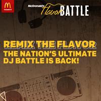 McDonald's Flavor Battle Radio