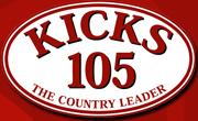 KYKS Kicks Country Leader 105.1 FM