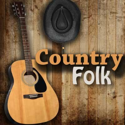 CALM RADIO - COUNTRY FOLK - Sampler