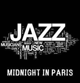 Smooth Jazz Midnight in Paris