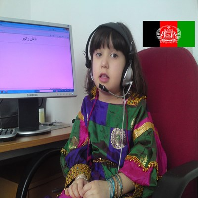 afghan radio  station