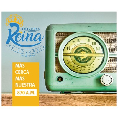 Emisoras Reina de Colombia 870 AM