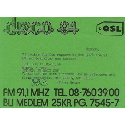 Disco 88/91MHz