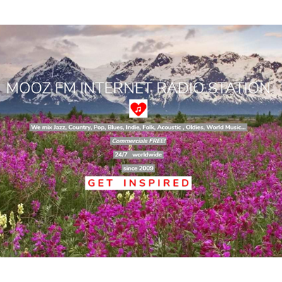 Mooz Radio - Get Inspired. 24/7 Commercials Free Music Box