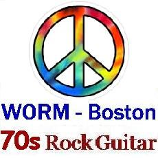 WORM Boston - 70s Guitar Rock 1970s