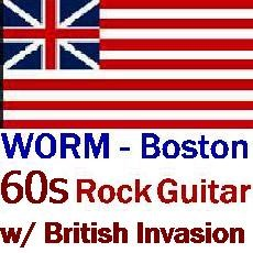 WORM Boston - 60s Rock Guitar w British Invasion 1960s