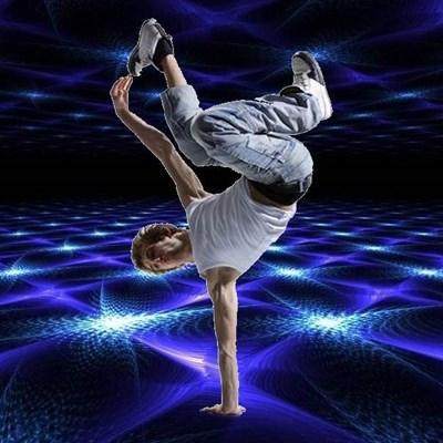 B-Boy Breakdance Freestyle Electronic Atmospheric Breaks Radio