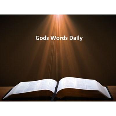Gods Words Daily