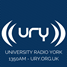 URY University Radio York 1350 FM