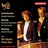 Lutoslawski : Variations Paganini - Bartok : Sonate Pour 2 Pianos Et Percussions - Helweg : America