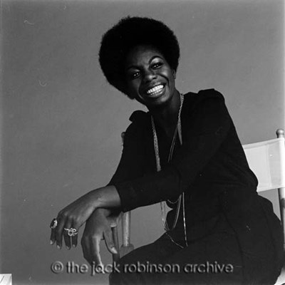 Debbie Harry Listening to/I Put A Spell On You' By Nina Simone
